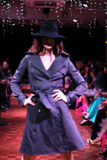 black kate coat